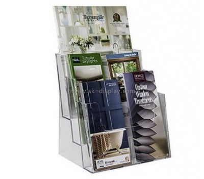Customize perspex a4 brochure holder BD-646