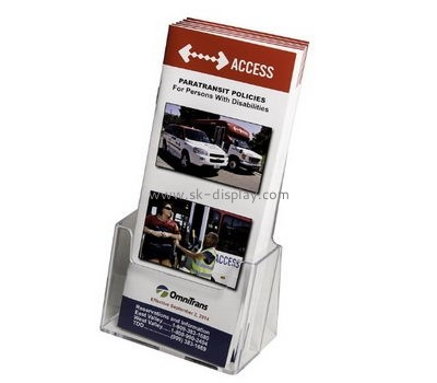 Customize a5 acrylic brochure holder BD-649