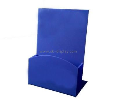 Customize lucite single brochure holder BD-663