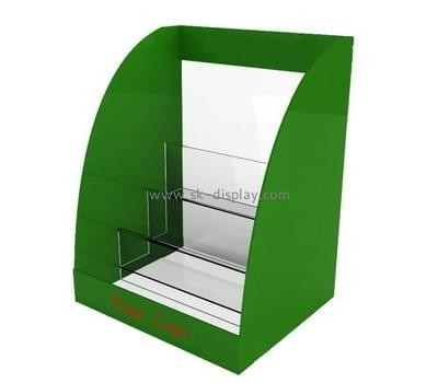 Customize plexiglass brochure holder stand BD-665