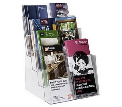 Customize perspex countertop brochure holder BD-670
