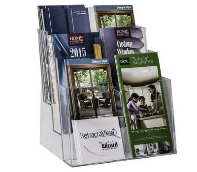 Customize lucite brochure holder BD-676