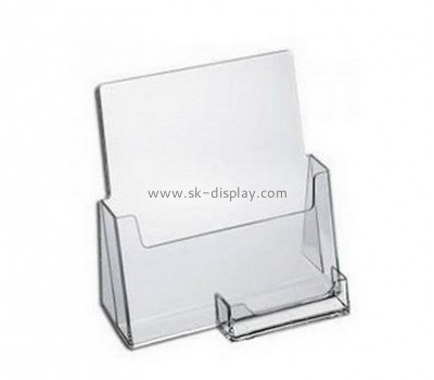 Customize lucite brochure holder display stand BD-678