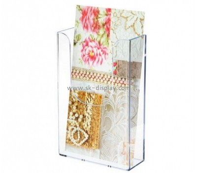 Customize acrylic standing brochure holder BD-680