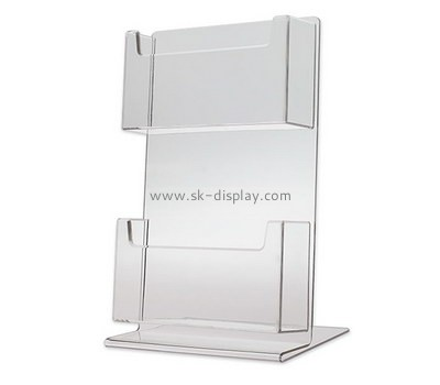 Customize acrylic unique business card holders BD-700