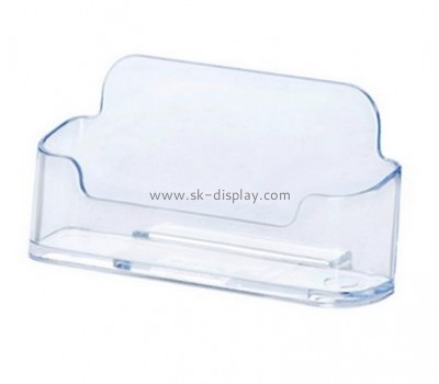 Customize acrylic business card holder for desk BD-701