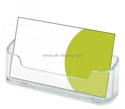 Customize acrylic business card display holder BD-702