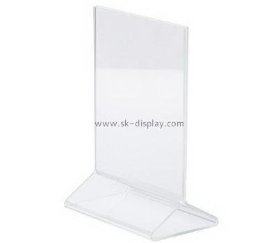 Customize acrylic sign holder 11x17 BD-713