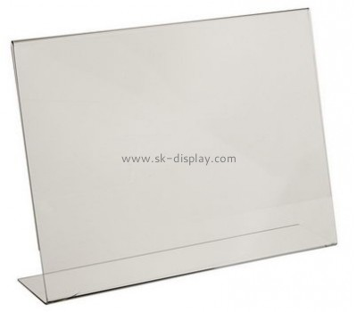 Customize acrylic retail sign holders BD-718