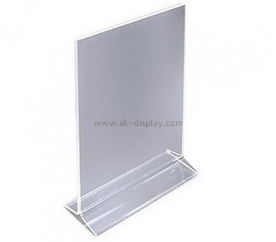 Customize acrylic tabletop sign holders BD-720