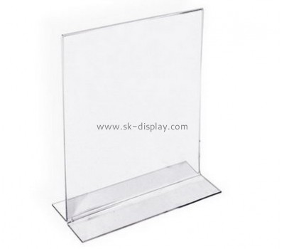 Customize retail acrylic poster holders BD-721