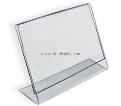Customize clear acrylic sign display BD-724