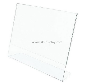 Customize perspex sign holders BD-735
