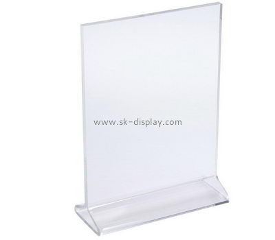 Customize plexiglass sign holder BD-740