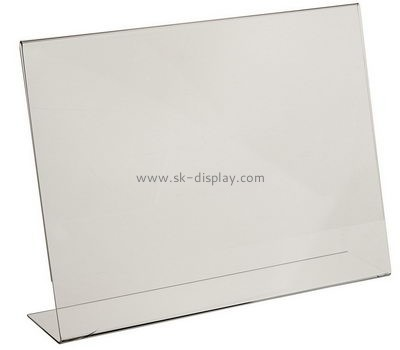 Customize acrylic sign holders BD-746