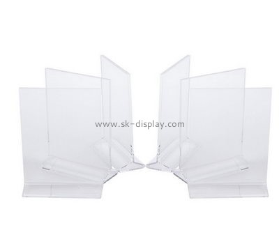 Customize lucite poster holders BD-753