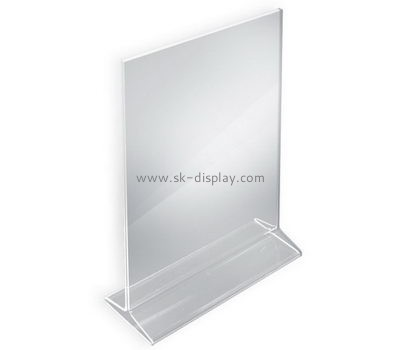 Customize perspex sign holder BD-748
