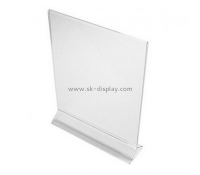Customize plexiglass sign holders BD-751