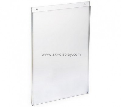 Customize acrylic wall mount sign holder BD-766