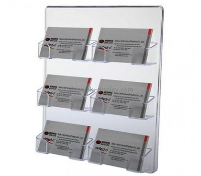 Customize acrylic personalized business card holders BD-771