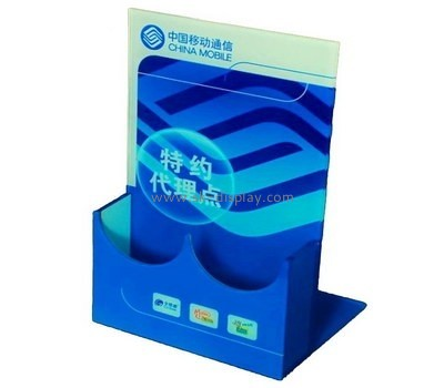 Customize acrylic leaflet holder BD-779