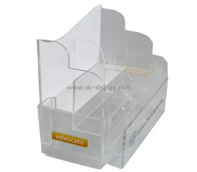 Customize plexiglass leaflet holder stand BD-783