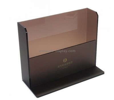 Customize lucite leaflet holder stand BD-781