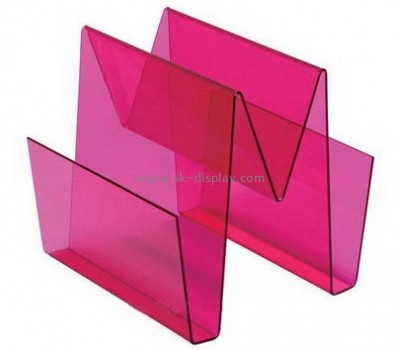 Customize acrylic pretty magazine holder BD-800