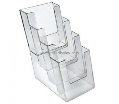 Customize lucite free standing brochure holder BD-839