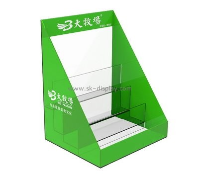 Customize lucite a4 brochure holder stand BD-856