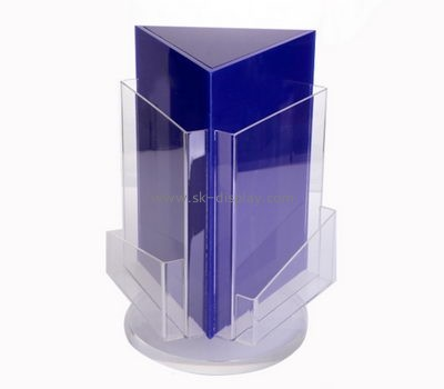 Customize lucite brochure size literature holder BD-855