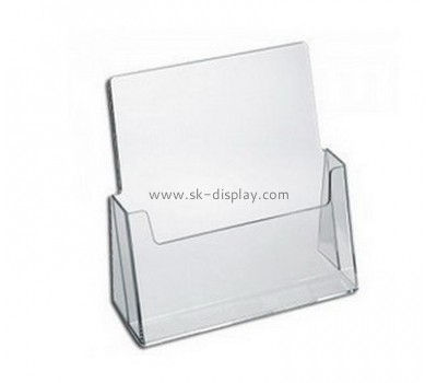 Customize lucite modern brochure holder BD-868