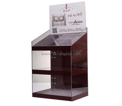 Customize acrylic store display cabinet DBS-862