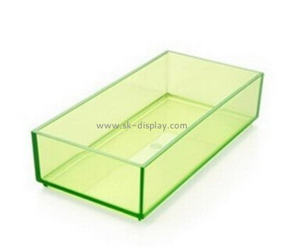 Customize acrylic modern serving tray DBS-889