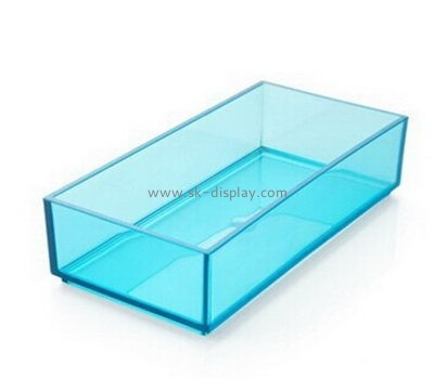 Customize acrylic clear serving tray DBS-890