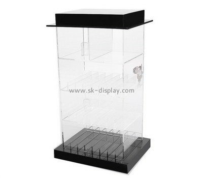 Customize acrylic narrow cabinet with doors DBS-900
