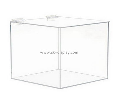 Customize clear plexiglass storage boxes DBS-918