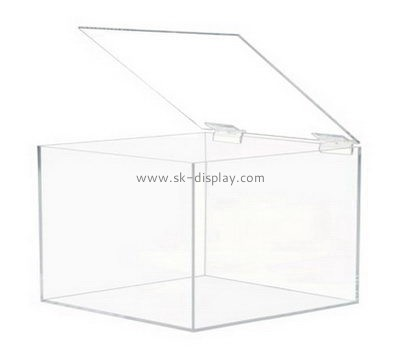 Customize clear acrylic box with lid DBS-925