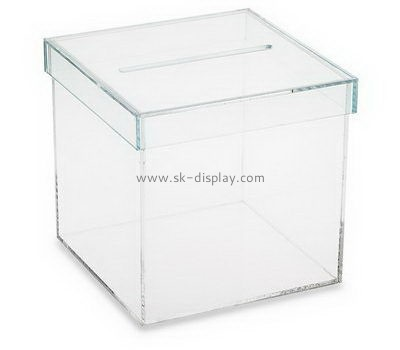 Customize clear plexiglass showcases DBS-935
