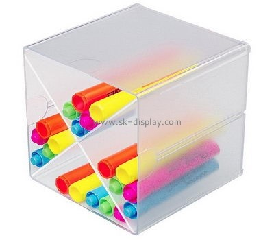 Customize acrylic compartment storage box DBS-938