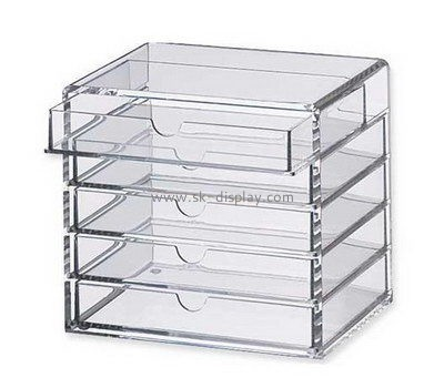 Customize lucite 5 drawer storage unit DBS-947