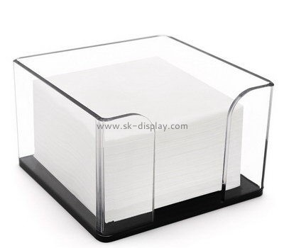 Customize acrylic tissue paper holder box DBS-946