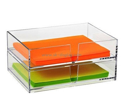 Customize acrylic notepaper holder DBS-958