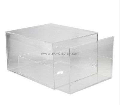 Customize acrylic shoe boxes for sale DBS-969