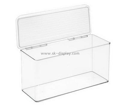 Customize acrylic storage boxes with lids DBS-1022