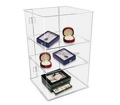 Customize acrylic jewelry box display cases DBS-1028