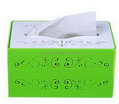 Customize acrylic decorative tissue box cover DBS-1061