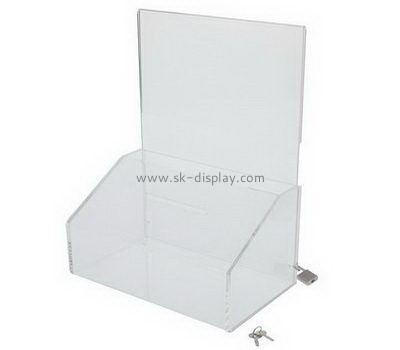 Customize acrylic collection boxes DBS-1077