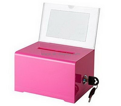 Customize plastic suggestion box DBS-1086