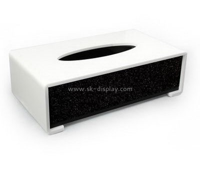 Customize acrylic tissue box cover DBS-1108